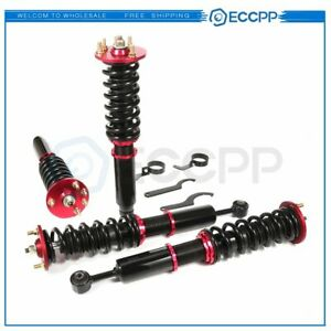 Coilover Shocks Struts Suspension Kit For 2003 07 Honda Accord 2004 08 Acura Tsx