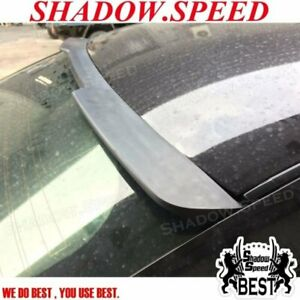 Glossy Black Hrw Rear Window Roof Spoiler Wing For 2009 15 Cadillac Cts v Sedan