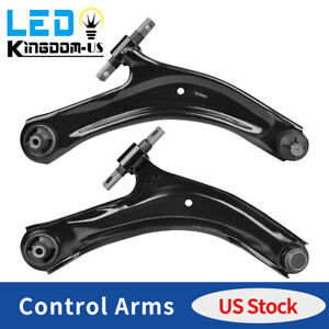 2x Front Lower Control Arms W Ball Joints For 2008 2013 Nissan Rogue Left Right
