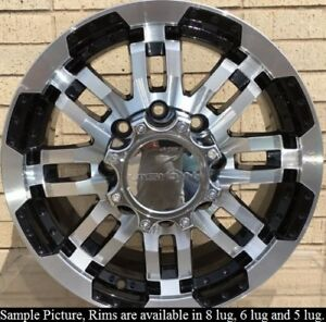 4 New 18 Wheels For Dodge Ram 2500 3500 Truck Hummer H2 Rims 21670