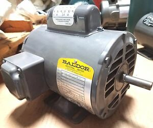 New Baldor 1 3 Hp Single Phase Motor L1206 50