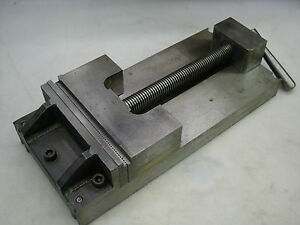 Precision Ground 8 Machine Vise Smooth Step Serrated Jaw Faces