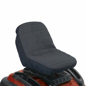 Brand New Classic Accessories 12324 Deluxe Riding Lawn Mower Seat Cover Medium