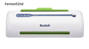 Thermal Laminator 2 Roller System Scotch Pro Tl906 New