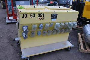 Porta safe Power Distribution Center Powerhouse Portable Electric Load Center