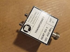 Russell Engineering Remt 103 2 120 450mhz Transformer Rf Microwave Mixer Balun