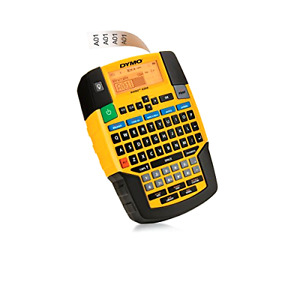 New Dymo Rhino 4200 Label Maker Qwerty Keyboard And Library Of Over 150 Symbols