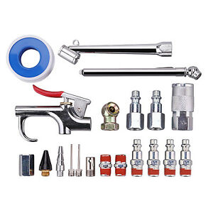 17 Piece Air Compressor Accessories And 1 4 Inch Npt Air Tool Accessory Kit