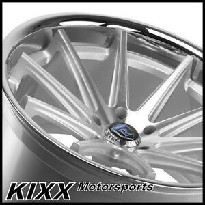 19 Rohana Rc10 19x8 5 9 5 Silver Concave Wheels Fits Lexus Isf