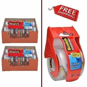 New Clear Packaging Tape Carton Box Sealing 2 X 800 12 Rolls Free Shipping