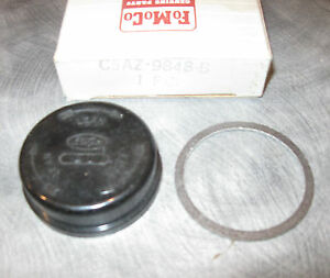 Nos 1965 Ford Galaxie Fairlane Choke Thermostat Housing Gasket C5az 9848 B