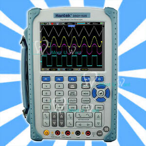 Hantek Lcd 150mhz 1gs s Handheld Oscilloscope Isolated Level 6000counts Dmm Lcd