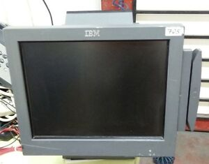 Ibm Surepos 500 Touchscreen 4840 543 15 Point Of Sale System 12x1001 42v3958