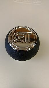 Triple Chrome Mgw Billet Aluminum Mustang Gt Shift Knob