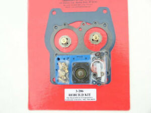 Quick Fuel 3 206qft Holley Spread Bore Double Pumper Carb Rebuild Kit 4165 4175