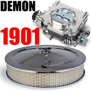 Demon Carburetor 1901 Street Demon 625 Carburetor Polymer Bowl With Air Cleaner