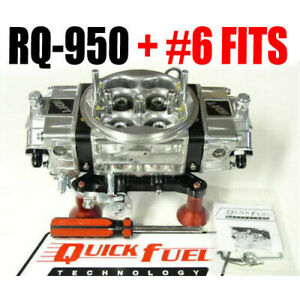 Quick Fuel Rq 950 950 Cfm Gas Mech Race Q Series Drag Race Gas New