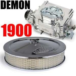 Demon 1900 Carburetor Street Demon 625 Carburetor Aluminum Finish W Air Cleaner