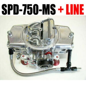 Speed Demon 750 Cfm Gas Aluminum Mechanical Spd 750 Ms Choke 6 Fuel Line Kit