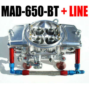 Mighty Demon Mad 650 Bt Mechanical 650 Annular Blow Thru Turbo Red Blue Line Kit