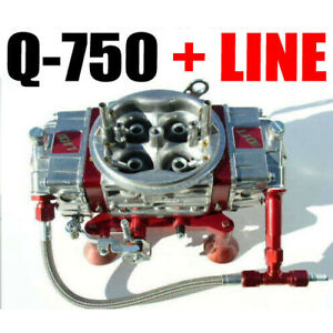 Quick Fuel Q 750 750 Cfm Mech Drag Race Gas With 6 Line Kit In Stock Now