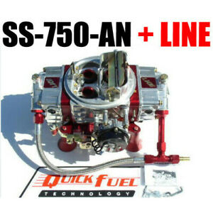 Quick Fuel Ss 750 An Annular Gas Mech With Choke And 6 Line Kit