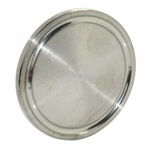 Hfs r 6 Inch Ss 304 Sanitary End Cap Fits Tri clamp Ferrule Flange 152mm