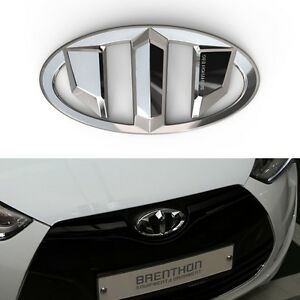 Brenthon Front Rear New Emblem For Hyundai Veloster 2012