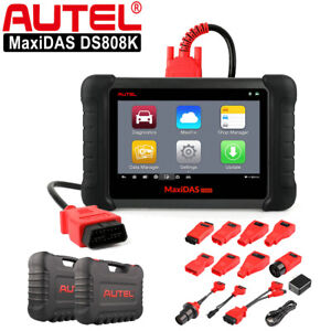 Autel Maxidas Ds808k Auto Diagnostic Tool Obd2 Code Reader Better Ds708 Ds808