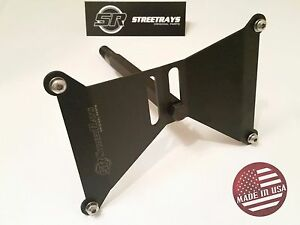 Streetrays Dual Position Front License Plate Holder Kit For 17 18 Wrx
