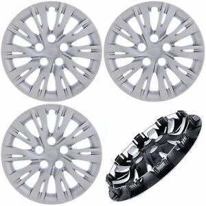 New 4pc Fits Toyota Camry 2007 2017 16 Inch Hub Caps Covers For Steel Wheel Cap