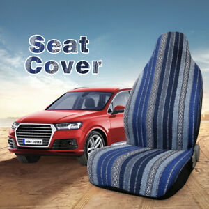 Blue Baja Blanket Universal Durable Bucket Seat Cover Fit For Car Truck