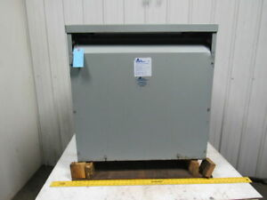 Acme Electric Corp Dtga 0118 4s 118kva Drive Isolation Transformer 3ph