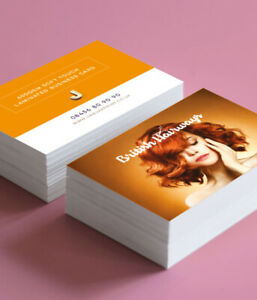 Business Cards Loyalty Calling Voucher Cards 85mm X 55mm