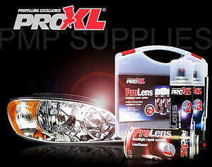 Proxl Pro Lens Headlight Restoration Kit Pro Xl Prolens Bargain