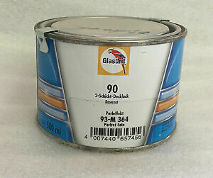 Glasurit 90 Line 93 m364 500ml Pearl Fi Red Water Basecoat Basf Mixing Tinter