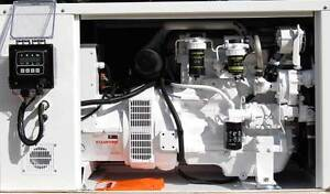 65 Kw Diesel Marine Generator John Deere W heat Exchanger Cooling And Enclosure