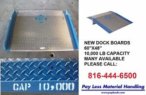 Truck Container Loading Dock Plate Ramp 36 W X 36 L 2500 Lb 3 8 Alum