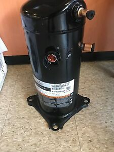 New Emerson Copeland Scroll Compressor 208 230v 1 Phase 60hz R410a