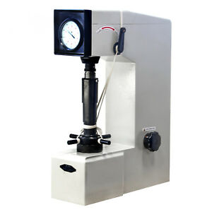 Hfs r Rockwell Hardness Tester Gauge Load 150 Kgf Includes Accessories