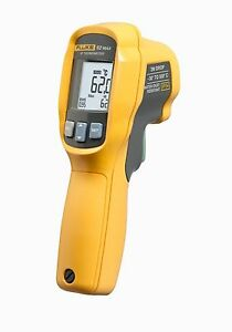Fluke 62 Max Infrared Thermometer 20 To 932 Degrees F Digital Thermomet