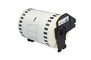 2 10 Rolls Brother Dk 2243 Label 4 In X 100ft Continuous Length Paper For Ql1050