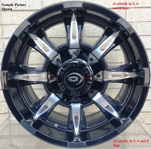 4 New 20 Wheels Rims For Ford 1999 2019 F 250 F350 Super Duty 2wd 4wd 22041