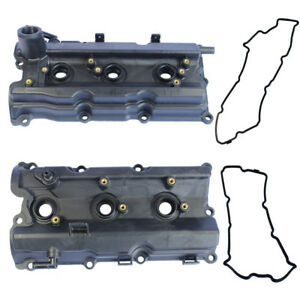 New Left Right Engine Valve Covers For 2003 06 Nissan 350z 03 06 G35 V6 3 5l