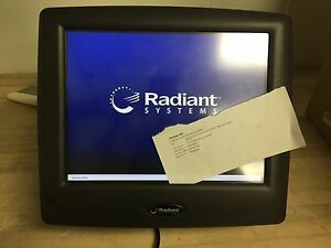 Radiant P1550 Ncr Terminal Point Of Sale Computer All In One