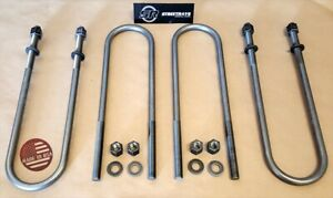 sr 99 17 Ford F250 F350 Sd Superduty 2wd 4wd U Bolts Set up To 3 Rear Lift