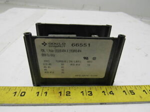 Gould Shawmut 66551 Intermediate Power Distribution Block 1 Pole 600v