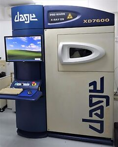 Dage Xd7600 Nt X ray Inspection System Xidat xd7600nt