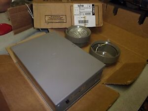 Lithonia Eit50 12v 50w Emergency Lighting Unit And Enclosure Steel