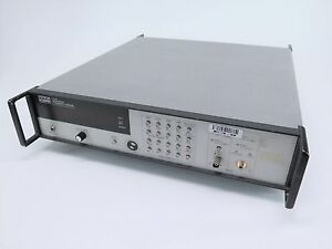 Systron Donner 6030 Microwave Frequency Counter P n 07744801d